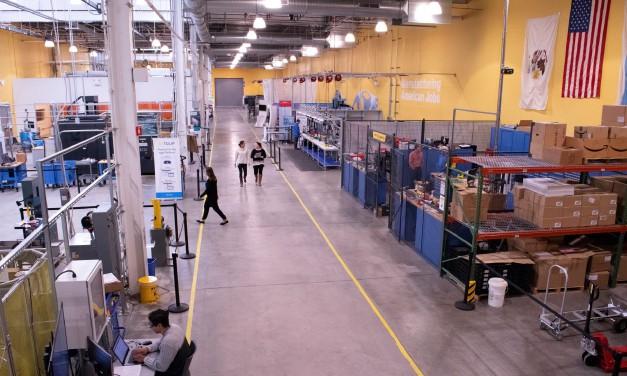 MxD's 22,000 square-foot manufacturing floor