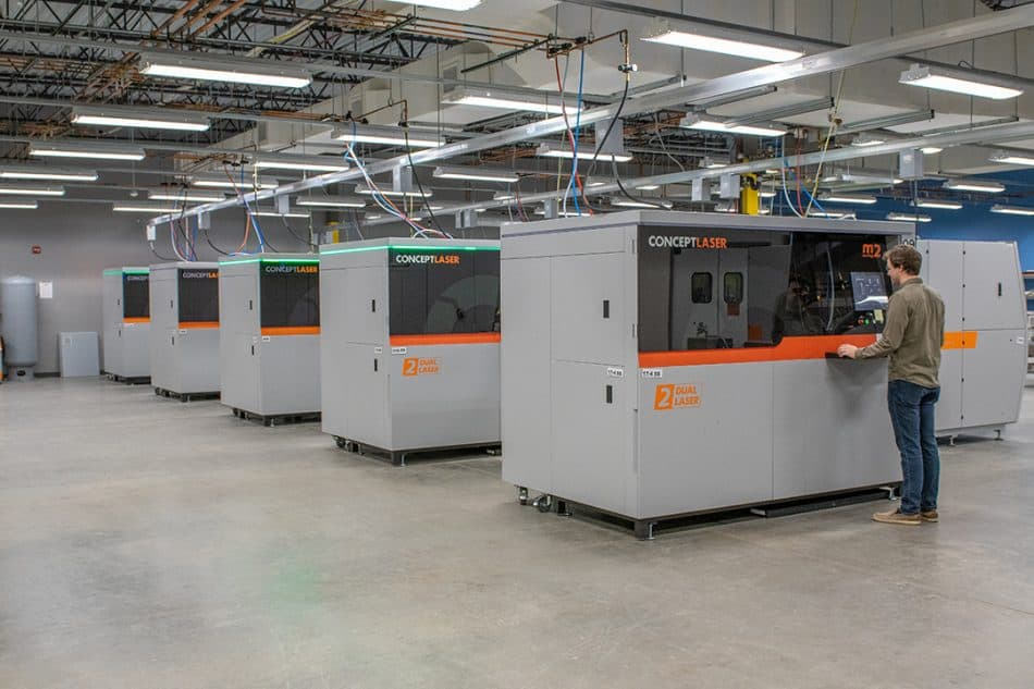 Protolabs' state-of-the-art 3D printing facility