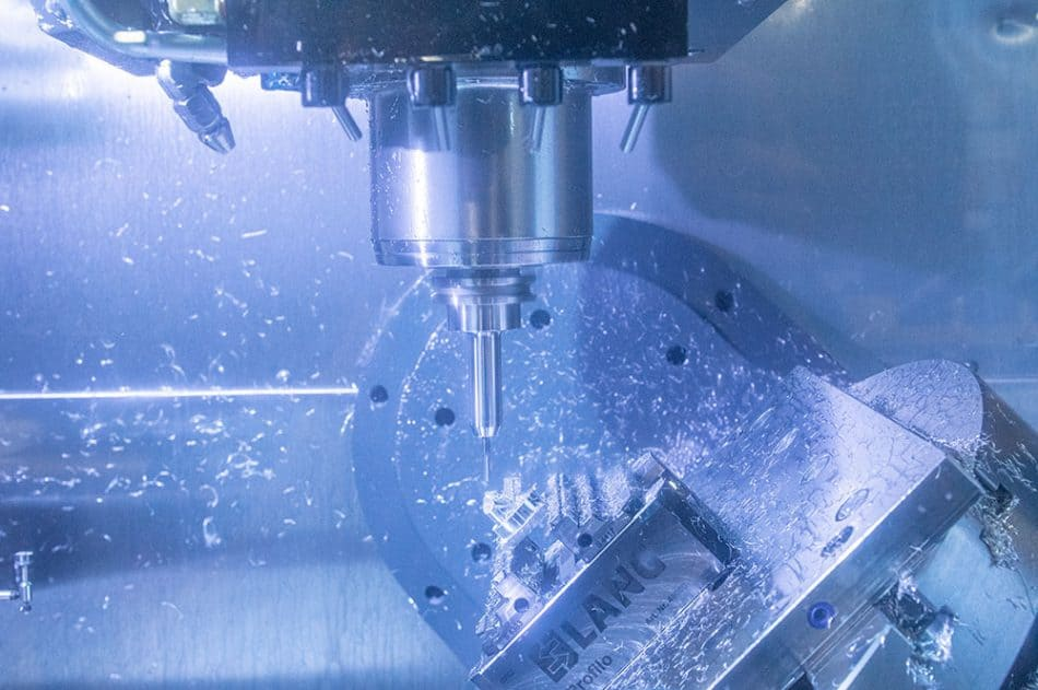 Protolabs' 5-axis CNC milling