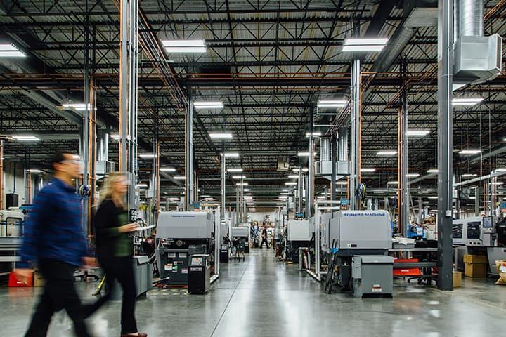 Protolabs' on-demand production facility